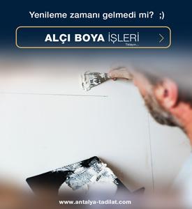 Antalya Tadilat | Antalya Boya Ustası