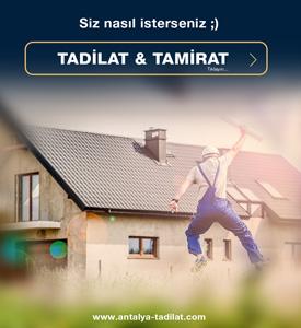 Antalya-Tadilat
